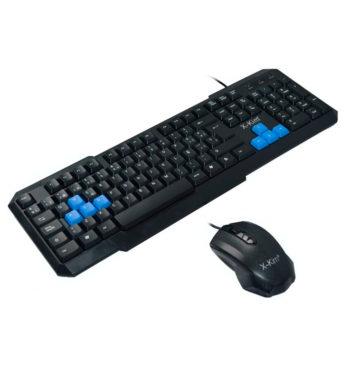 Teclado y Mouse X-Kim USB 107NU